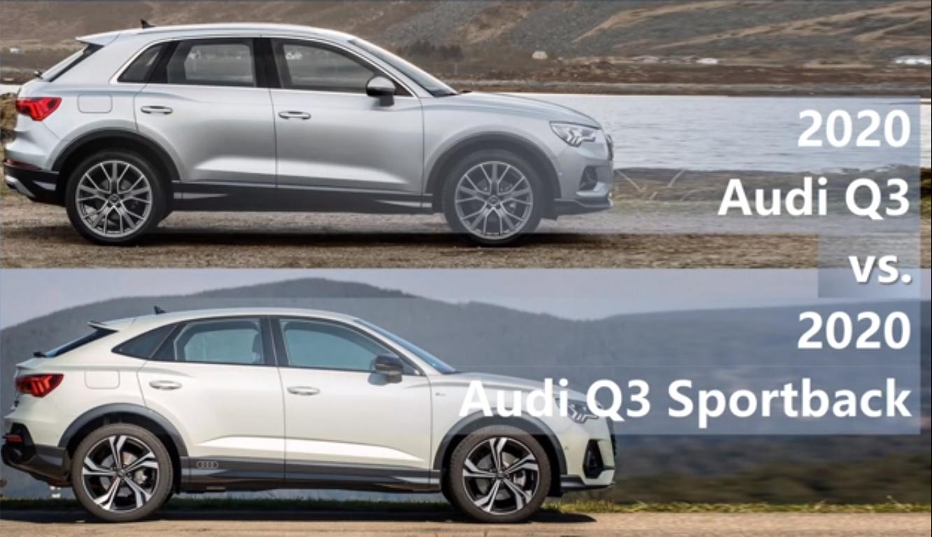 Conheca As Princiapis Diferencias Entre O Audi Q3 E O Audi Q3 Sportback